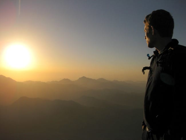 Being Present - Mt Sinai Sunrise
