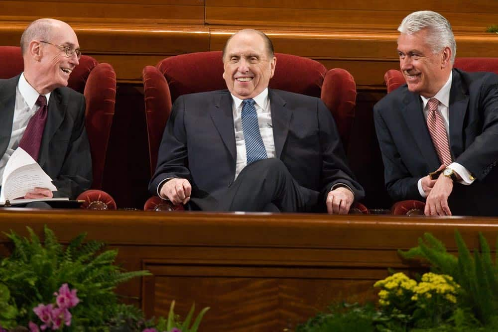 Thomas S. Monson Happy - The Returned Missionary