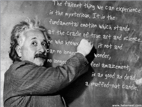 Einstein Quote - Snuffed Out Candle - returned missionary