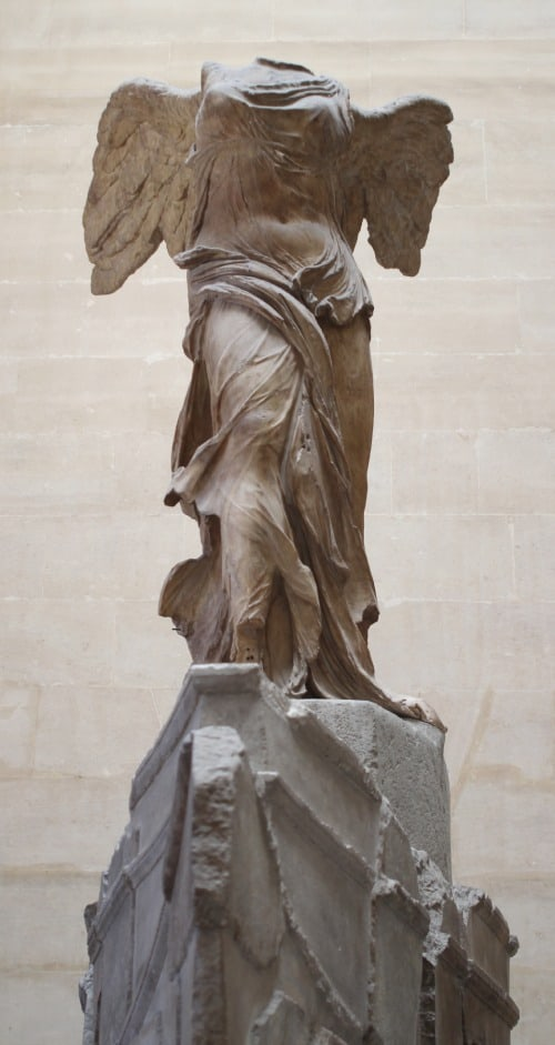 Nike of Samothrace - The Louvre - Returned Missionary Happy