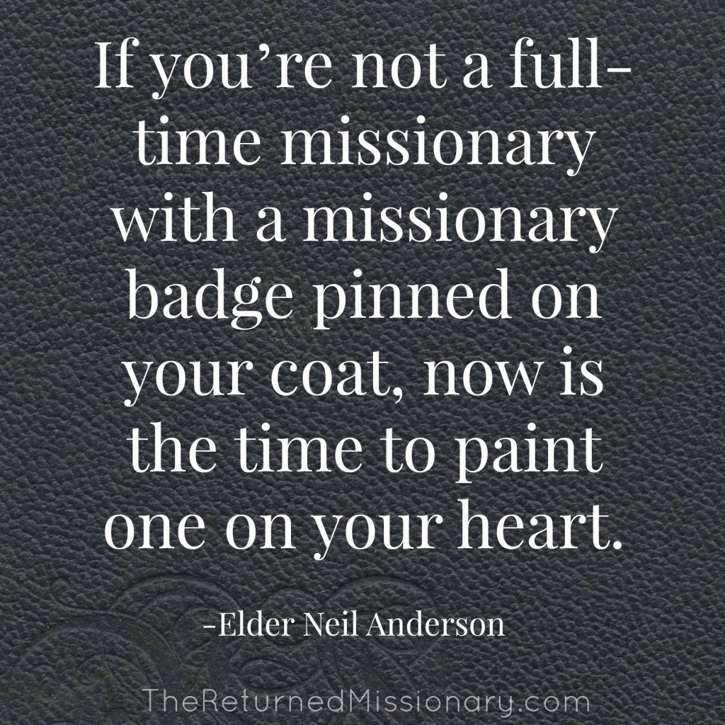 Call Yourself on a Mission - 6 Ways to Rethink Missionary Work