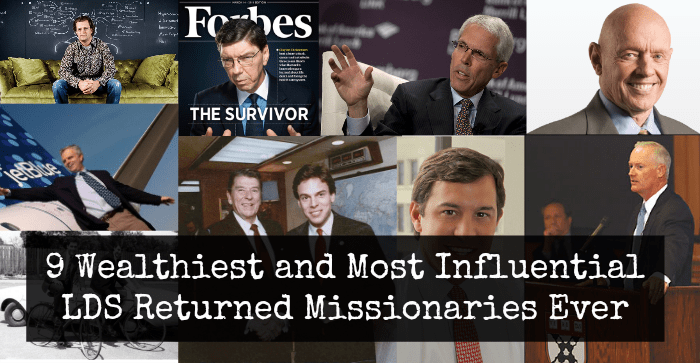 9 Wealthiest and Most Influential LDS Returned Missionaries Ever