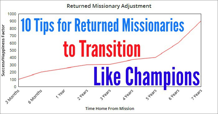 Returned Missionary Transition Tips