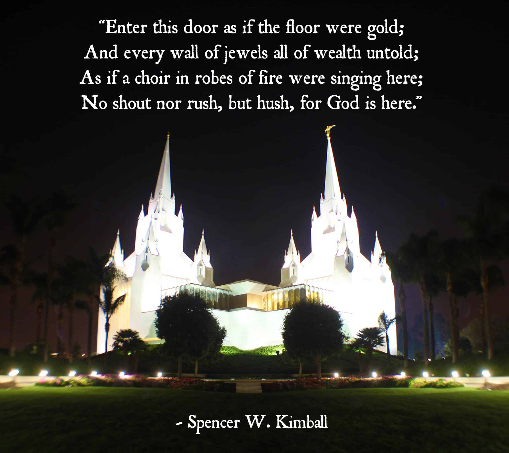 LDS Temples and Mormon Temple quotes