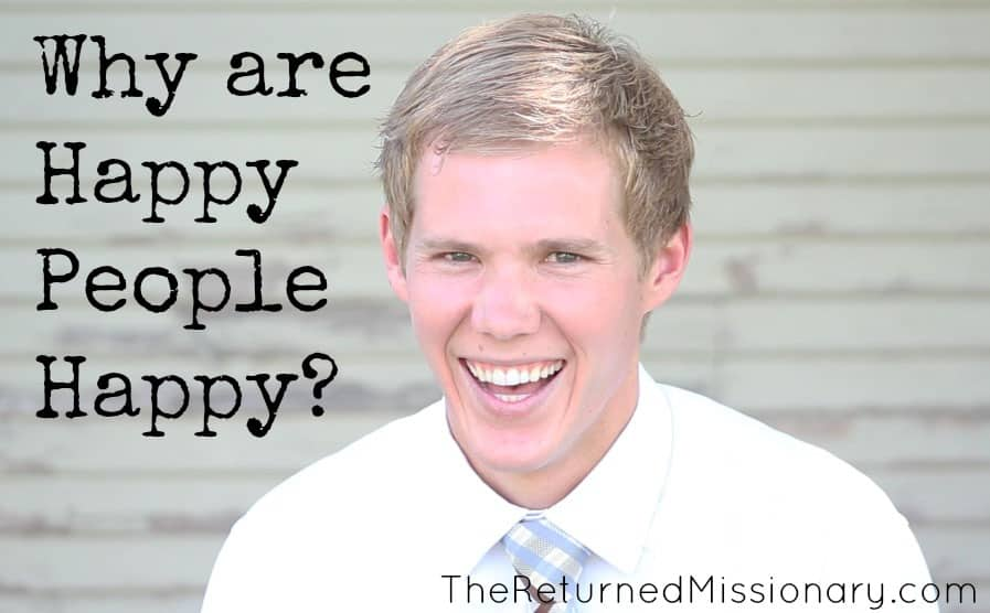 Why Are Happy People Happy
