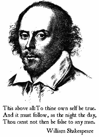 To Thine Own Self Be True William Shakespeare - Returned Missionary Quotes