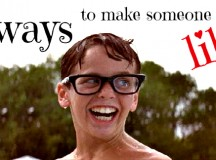"""""""Squints"""" from The Sandlot glancing at Wendy Peffercorn just before jumping into the deep-end"""