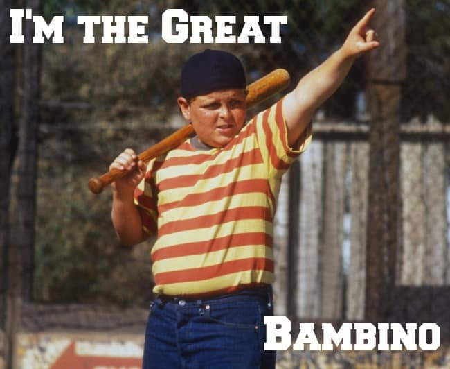 im the great bambino