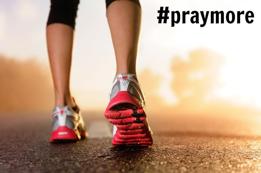 Pray on your run