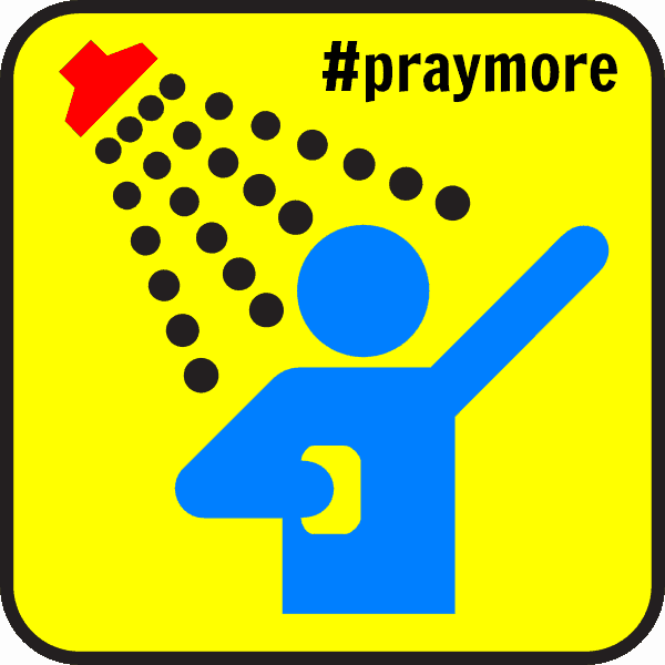 Pray in the Shower